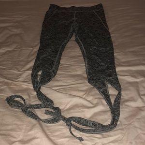 Mossimo leggings ballet tie m